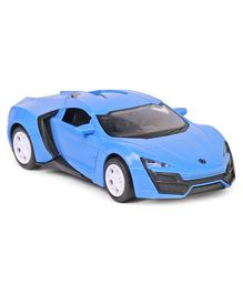Friction Car Toy - Blue