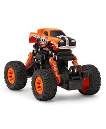 Imagician Playthings Diablo Pull Back Graffiti with Shock Absorber Stunt Car - Orange