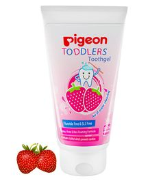 Pigeon Strawberry Flavoured Toothpaste - 50 grams