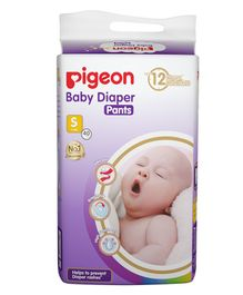 Pigeon Ultra Premium Small Size Baby Diaper Pants - 40 Pieces