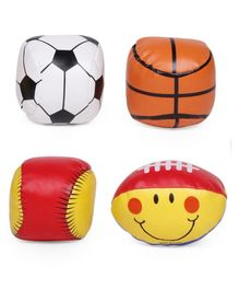 Multicoloured Soft Sports Ball - Pack of 4