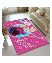 Athom Trendz Disney Frozen Carpet - Purple