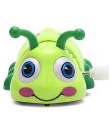 Snail Shaped Wind Up Toy - Green