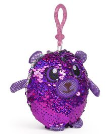Shimmeez Clip On Toy Animal Shape Purple Pink - 16 cm