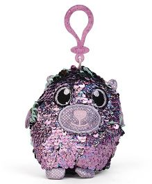 Shimmeez Clip On Toy Animal Shape Purple - 16 cm