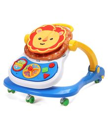 Musical 2 in 1 Activity Walker - Yellow Blue