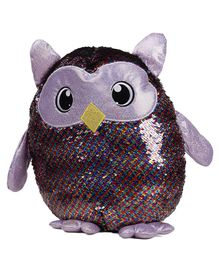 Shimmeez Large Clip On Toy Owl Shape - 44.5 cm (Colour May Vary)