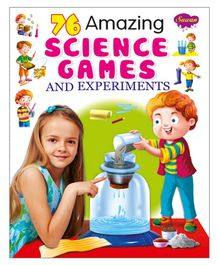 76 Amazing Science Games & Experiments Activity Book - English