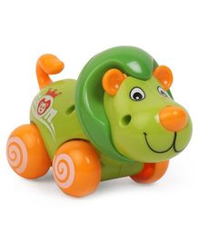 Lion Shaped Wind Up Toy - Green Orange