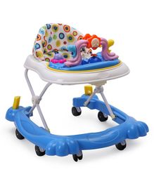 Musical Walker With Play Tray - Blue