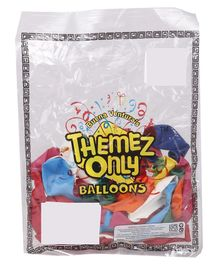 Themez Only Balloons Pack of 50 - Multicolour