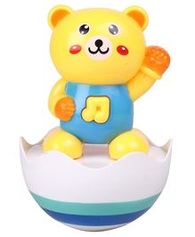 Roly Poly Baby Musical Tumbler Toy - Yellow