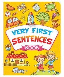 Very First Sentences Book - English