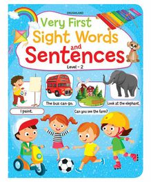 Very First Sight Words & Sentences Book Level 2 - English