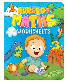 Nursery Maths Worksheet - English