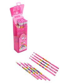 Kids Stationery Set With Box - Pink