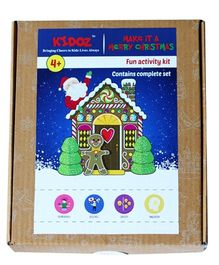 Kidoz Make It A Merry Christmas Activity Kit - Multicolor