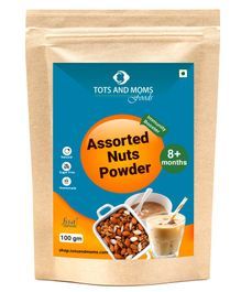 Tots and Moms Foods Assorted Nuts Powder - 100 gms