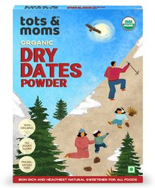 Tots and Moms Foods Dry Dates Powder - 200 gm