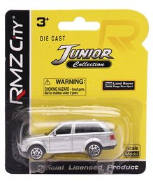 RMZ Die Cast Land Rover Range SportsDie Cast & Free Wheel Car - Silver