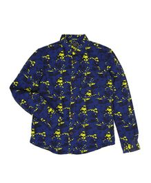 Indian Terrain Printed Full Sleeves Shirt - Blue