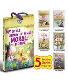 My Little Library of Famous Moral Stories by Shefali Kaushik Set of 5 - English