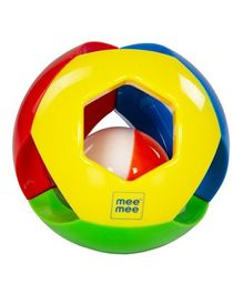 Mee Mee Jingling Ball Rattle - Multicolour
