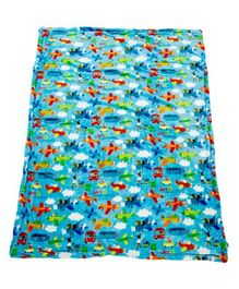 Mee Mee Soft Double Layer Baby Blanket - Blue