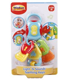 Winfun Teether With Light & Sound - Multicolor