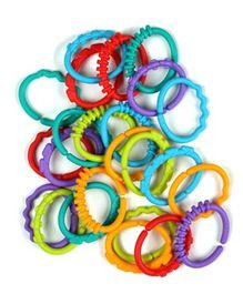 Bright Starts Lots of Links Multicolor - 24 Pieces