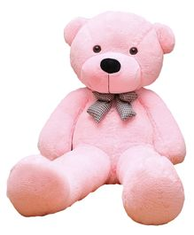 Frantic Teddy Bear Soft Toy Pink - Height 121 cm