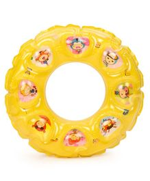 SuperK Kids Swimming Ring Printed - Yellow