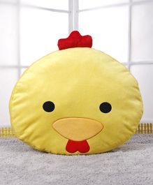 Starwalk Duck Face Plush Cushion - Yellow