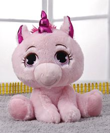 Starwalk Unicorn Soft Toy Pink - Height 24 cm