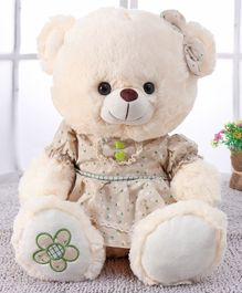 Starwalk Printed Teddy Bear Plush Soft Toy - 35 cm (Color May Vary)
