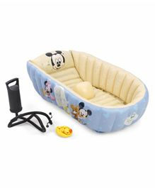 Disney Mickey Mouse Inflatable Baby Tub - Blue Cream