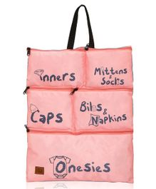 Lost & Found Baby Essentials Organiser - Pink