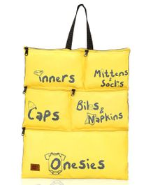 Lost & Found Baby Essentials Organiser - Yellow