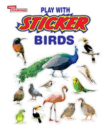 Play With Sticker Birds - English