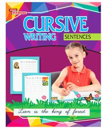 Cursive Writing Sentences Book - English