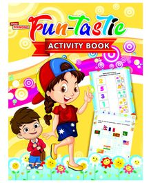 Fun Tastic Activity Book - English