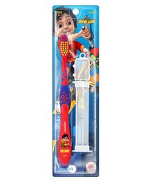 aquawhite Shiva Watchha Soft Toothbrush With Case - Red