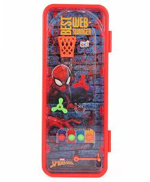 Marvel Spiderman Pencil Box With Lock Code - (Color May vary)