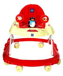 Mee Mee Simple Steps Baby Walker - Red