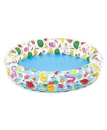 Intex Just So Fruity Pool Set With Ball & Ring - Multicolor