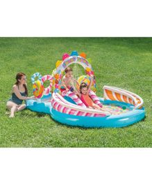 Intex Inflatable Kids Candy Zone Water Play Center Swimming Pool