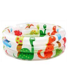 Intex Dinosaur Ring Baby Pool - Multicolor