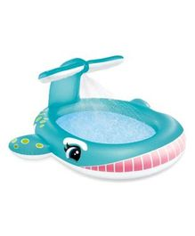 Intex Whale Spray Pool - Blue