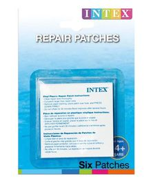Intex Swimming Pool Repair Patches White - Pack of 6