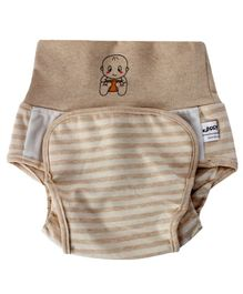 Kassy Pop Baby Diaper Training Pants Size Small - Brown